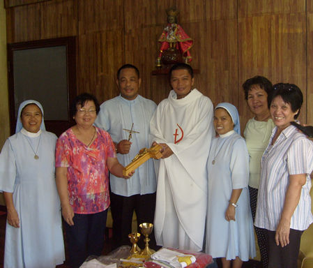 Fr. Lolan Tabotabo, Carmelita G. Baric, San Carlos City, Negros Occidental, Philippines