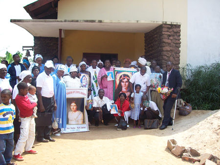 Universal Living Rosary Association of Saint Philomena, Cameroon, Africa