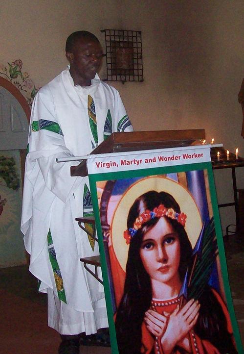 Priest, Africa.