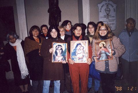 Universal Living Rosary Association of Saint Philomena Missionary Center, Madre Nelly Montero, rscj, Casilla 126, Villa Alemana, Chile.
