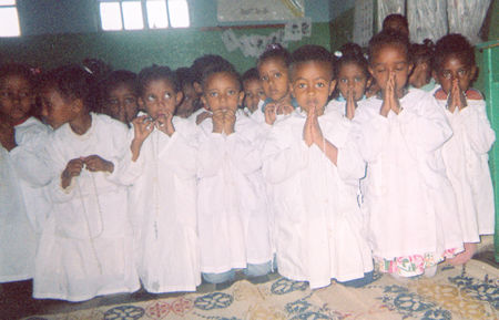 They call these darling children the &quot;Lilies of Our Lady&quot;. Each one has received a luminous <a href=