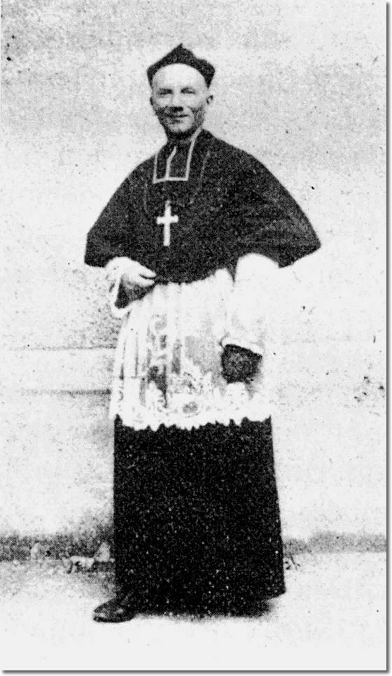 Father Louis Petit, director of the Archconfraternity of Saint Philomena