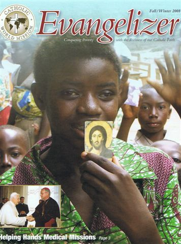 Missionary Holy Cards