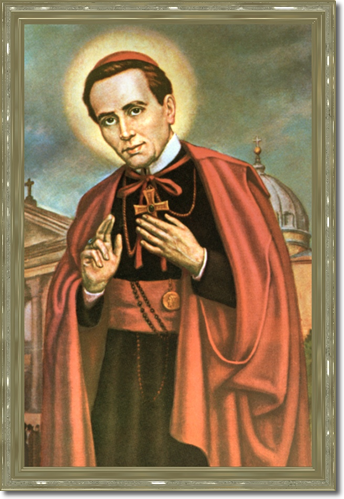 Saint John Neumann – He was a devotee of St. Philomena from Philadelphia and in 1846 completed the St. Philomena Church in Pittsburg. He was appointed bishop of Philadelphia in 1852 and was the first to organize a diocesan Catholic school system.