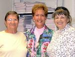 Catherine, Bernice & Patti Melvin