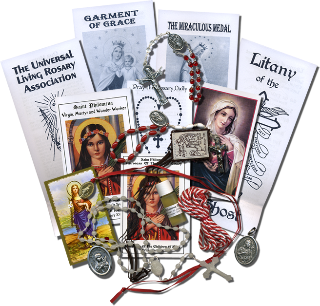Authentic Saint Philomena Devotional Sacramentals
