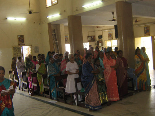 Universal Living Rosary Association Missionary Center, India.
