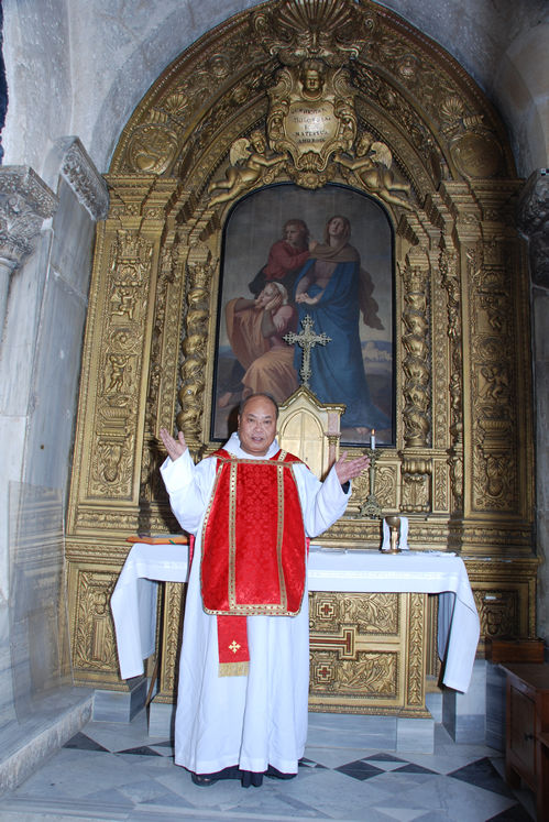 Fr. Angelo Beda Ison, OFM, Basilica of the Holy Sepulchre and Calvary, Roman Catholic Church, Jerusalem