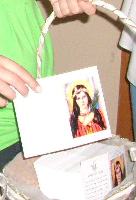Your little son, slave of the Immaculata, John Kayrouz, Lebanon