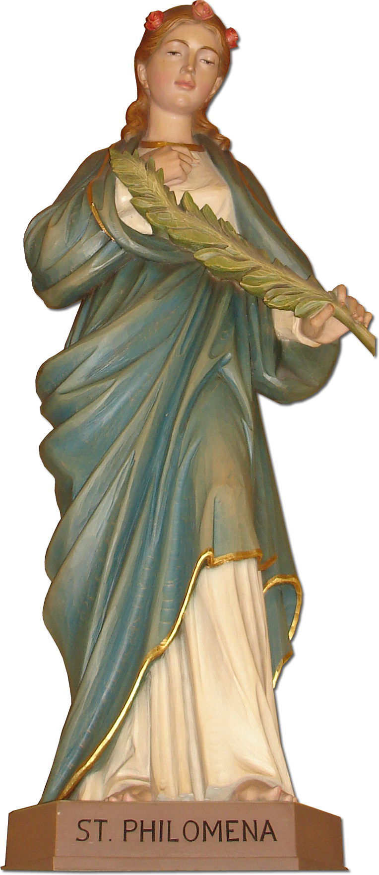 Saint Philomena Statue in Saint Philomena's Parish Church, Detroit, Michigan, United States.