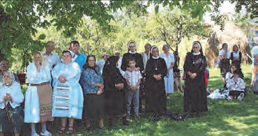 Our people have little money to buy books or Sacramentals. We thank you very much for all the spiritual treasures you send for our members in Romania. This is Transylvania where we still continue to have Holy Mass under the burning sun, and confessions in make-shift confessionals.