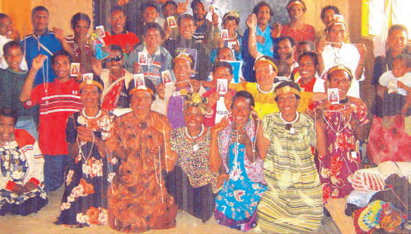 The Universal Universal Living Rosary Association of Saint Philomena (ULRA) Association of Saint Philomena (ULRA) in Papua New Guinea
