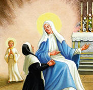 """Suffering, in one form or another, comes to all of us as we travel along life's road. When we meet suffering, it is difficult for us to accept that God is a loving Father. Our Lady will help lighten our darkness for She brought forth Him, Who is """"the Light of the world."""""""