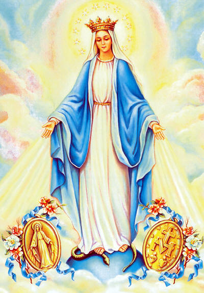 In 1832, the first Medals were made in accordance to Our Lady's design. They were freely circulated and, in a short time, were worn by millions. Innumerable wonders followed: health was restored, bad habits broken, dangers averted until the little Medal of the Immaculate Conception soon became known by the name it bears today, the Miraculous Medal.