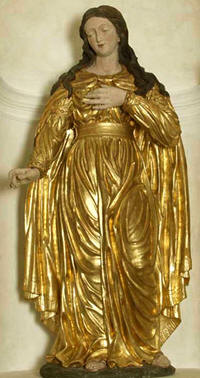 "Saint Philomena the title: ""Patroness of the Living Rosary"""