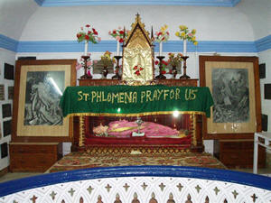Saint Philomena Cathedral in Mysore, India.