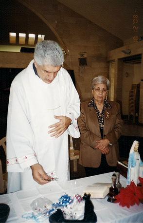 John Kayrouz, Universal Living Rosary Association Center, P.O. Box 397, Ghadir-Jounieh, Lebanon