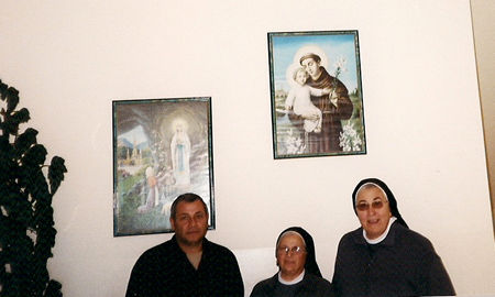 John Kayrouz, Universal Living Rosary Association Center, P.O. Box 397, Ghadir-Jounieh, Lebanon