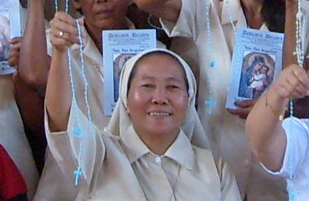 The Universal Living Rosary Association of St. Philomena, San Carlos City, Negros Occidental, Philippines.