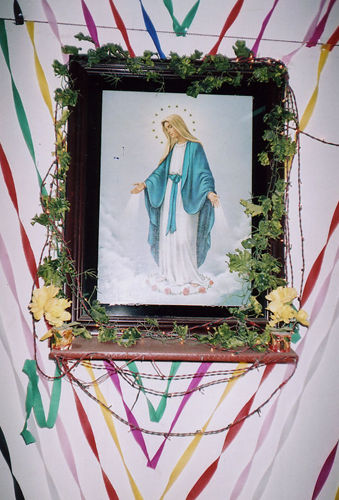 A beautiful picture of Our Lady.