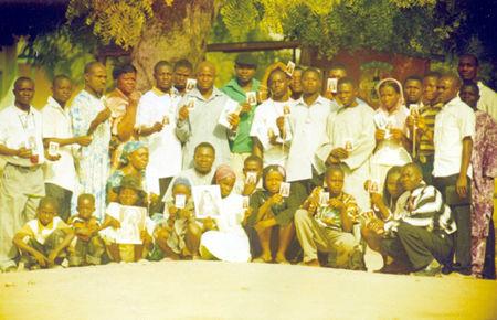 Universal Living Rosary Association of Saint Philomena group I form in my home parish that is St. Thomas parish Zing in Taraba state, Nigeria.