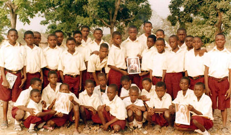 Junior Secondary School Students, Sankera, Nigeria.
