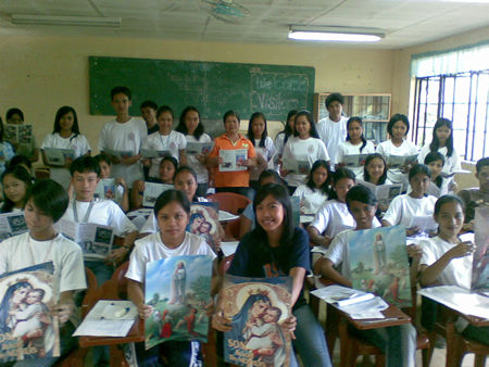 Students in the Philippines.