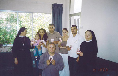 Universal Living Rosary Association of Saint Philomena in Lebanon.