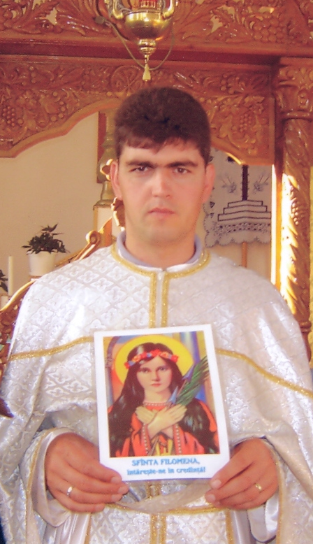 Priest from Romania.