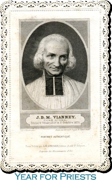 John Baptist Vianney (Curé d'Ars), Priest (RM)